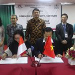 Penandatanganan MoU Universitas AKI – Dong Do University Vietnam